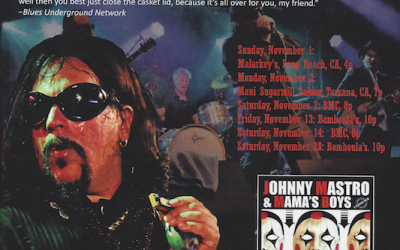 Johnny Mastro & Mama's Boys in November OffBeat!