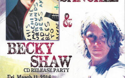 "Becky Shaw of Atlanta's ""Roxie Watson"" to have CD release party in New Orleans!"